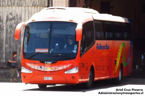 Pullman Bus Costa Central - Valparaíso - Irizar I6 / Scania (GGRT12)