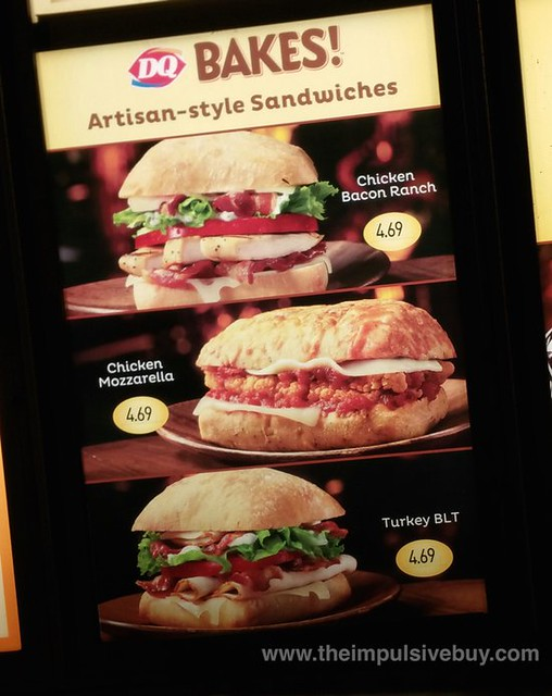 Dairy Queen Bakes Artisan-Style Sandwiches