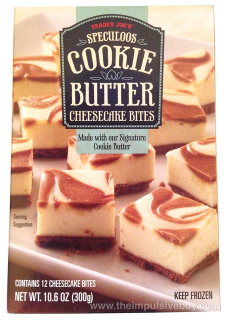 Trader Joe's Speculoos Cookie Butter Cheesecake Bites