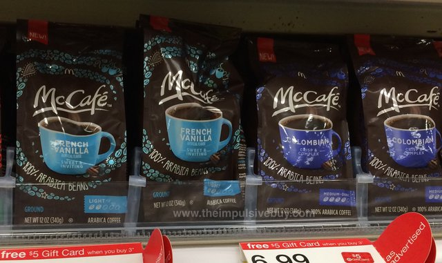 McCafe French Vanilla and Colombian Ground Coffee