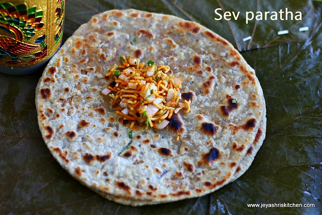 Sev-paratha