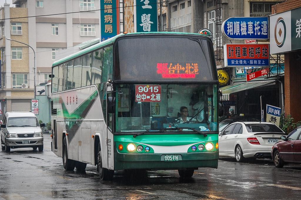國道客運9015線(臺中客運)三菱扶桑 Mitsubishi Fuso RP517PL@北港 | LF Zhang | Flickr