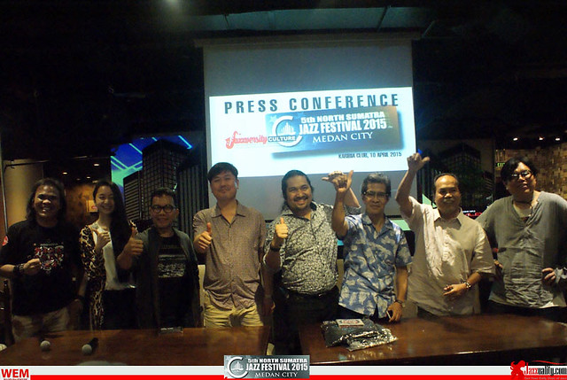 North Sumatra Jazz Festival 2015 - Press Conference (2)