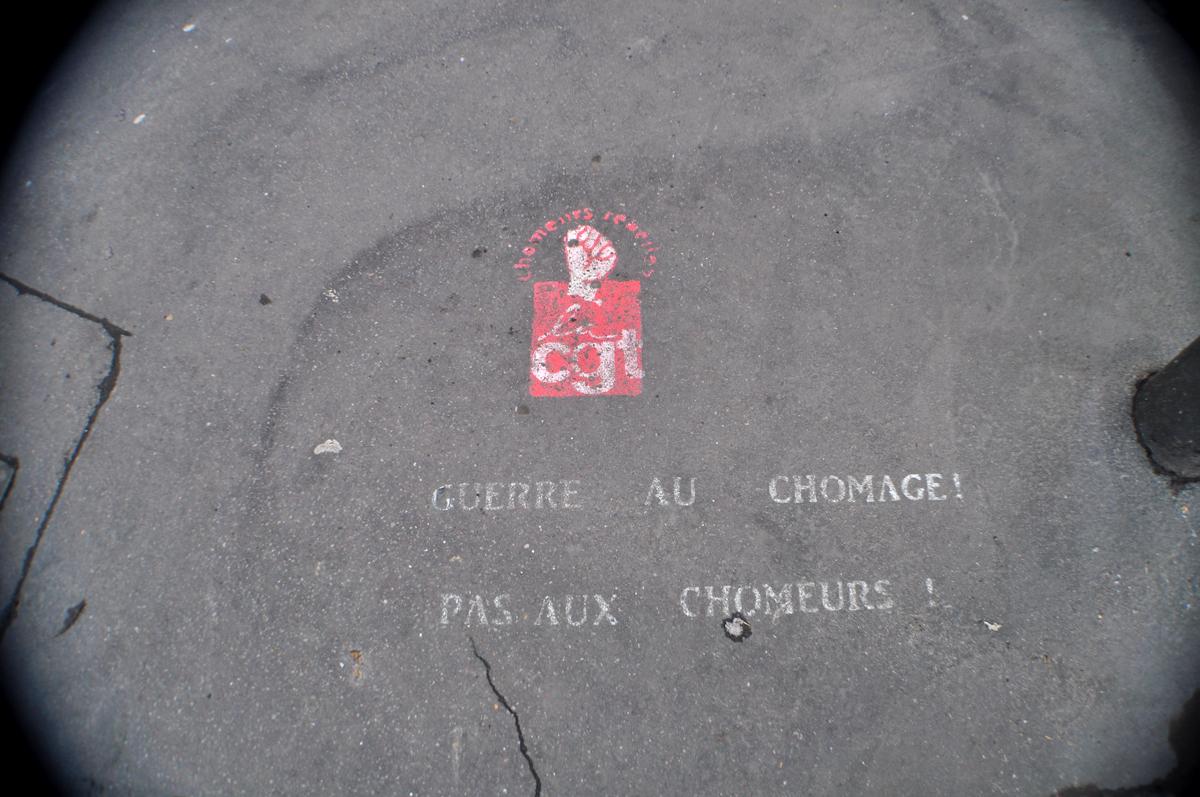 GUERRE AU CHOMAGE ! PAS AUX CHOMEURS !