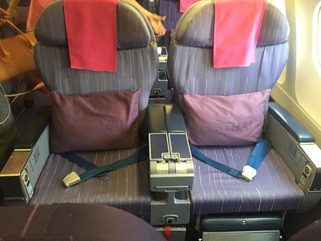 Cabine Business Thai sur A330