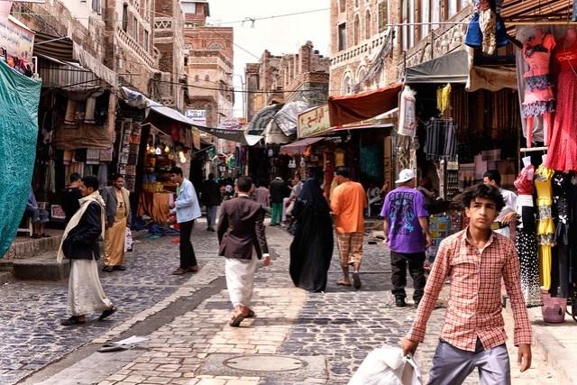 Street, Sanaá, Yemen