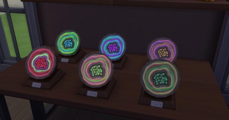 Géodes Les Sims 4