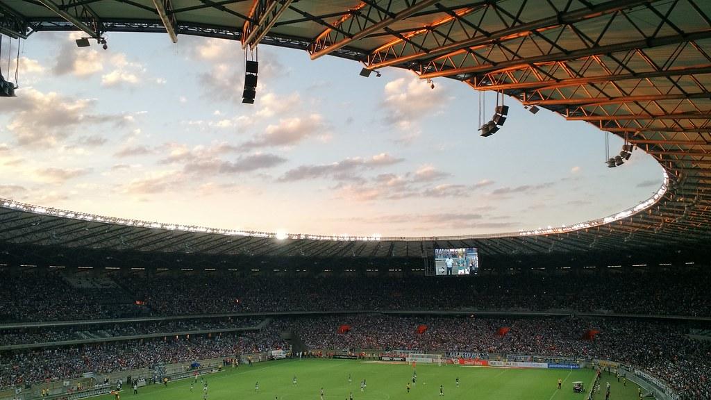 Imagen gratis de un estadio de fútbol