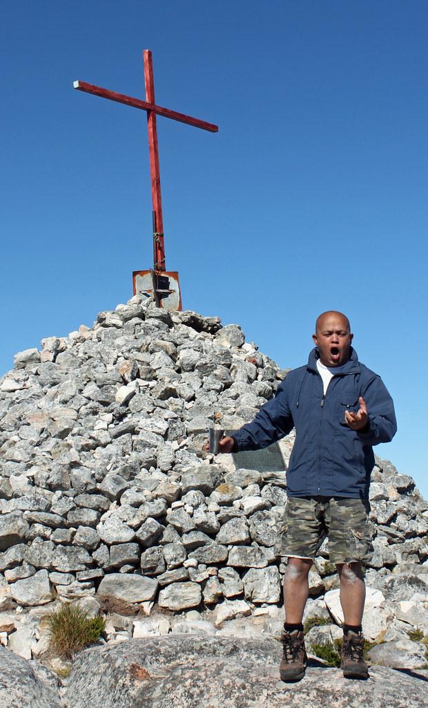 Frokost på toppen af Table Mountain