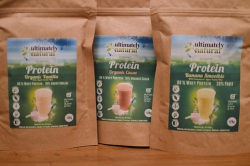 Ultimately Natural whey protein concentrate