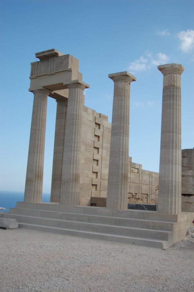 Acropolis in Rhodes