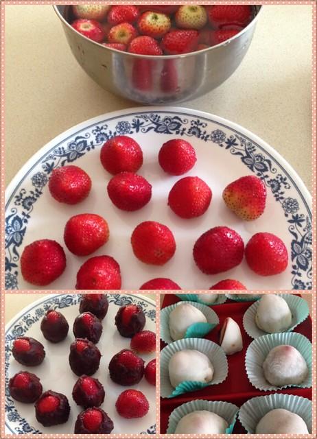 summer kitchen ideas oval table 私房小菜: 【亮妈厨房】鸡刨豆腐,草莓大福,培根焖大豆角等 - 由亮亮妈妈发表 文学城