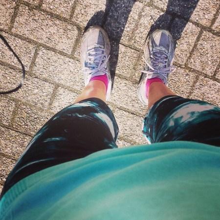 Leeggelopen ... nu enkele dagen koolhydraten bannen en naar uithongermodus want ik ga voor de scandinavische voorbereiding. #ParisMarathon #marathontraining