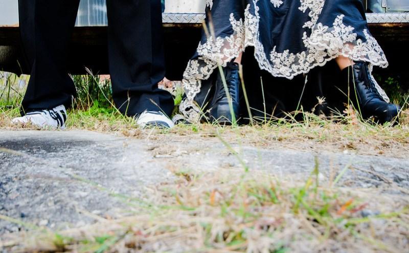 Skulls and pugs wedding from @offbeatbride
