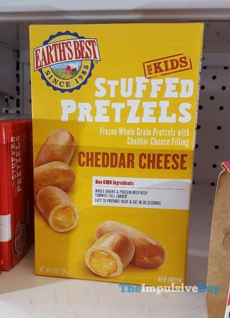 Earth's Best for Kids Cheddar Cheese Stuffed Pretzels