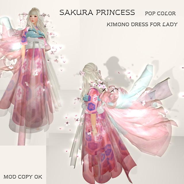 NAMINOKE SAKURA PRINCESS POP