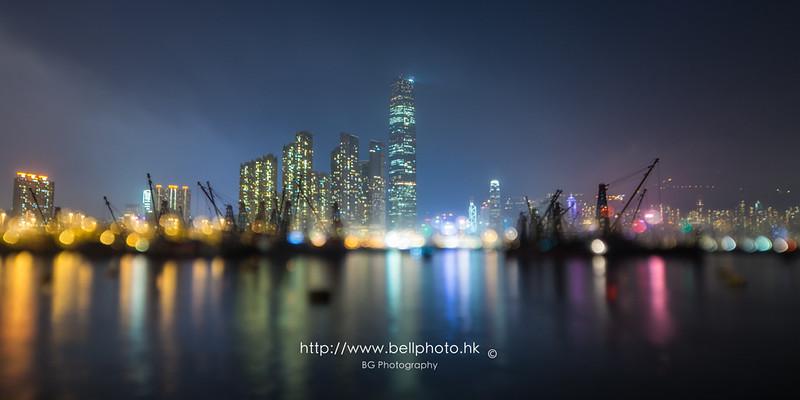 [香港] 最喜愛的市區看日落地點 - 大角咀碼頭 - blog.bellphoto.hk