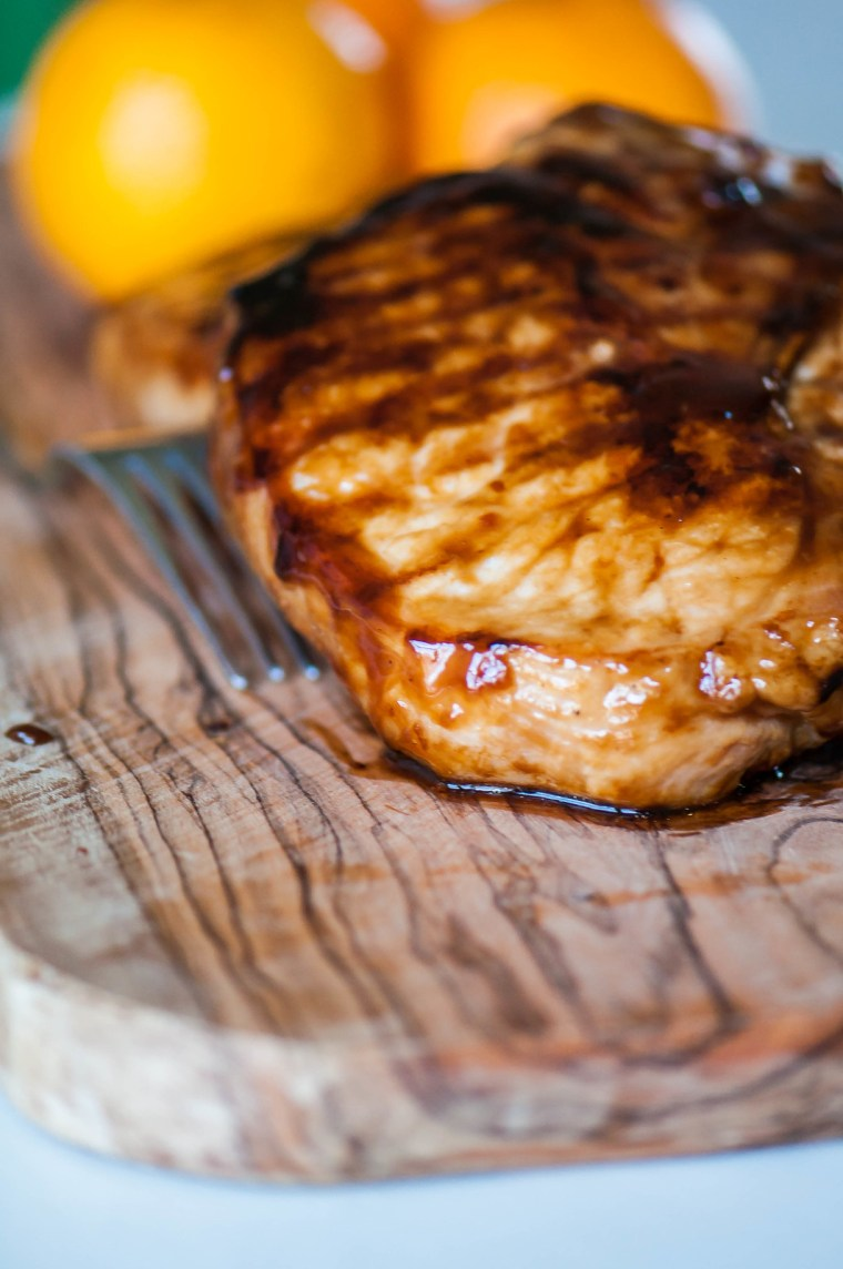 Spicy Orange Pork Chops 4