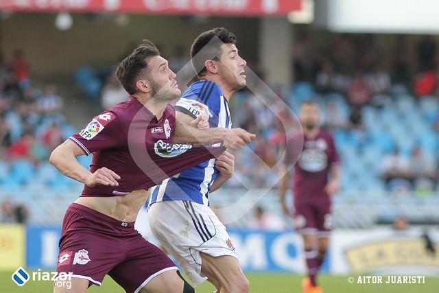 Liga BBVA. Jornada 31ª. Real Sociedad 2 - R.C.Deportivo 2