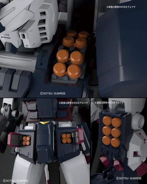 【更新官圖與販售資訊!】《機動戰士鋼彈 雷霆宙域戰線》全武裝鋼彈 (GUNDAM THUNDERBOLT Ver.) 1/100比例 組裝模型 ...
