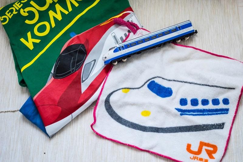 Regalos y souvenirs de Japón: cosas de trenes