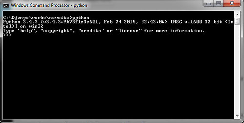 python-command-line
