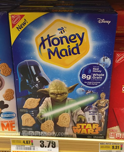 Nabisco Honey Maid Star Wars Grahams