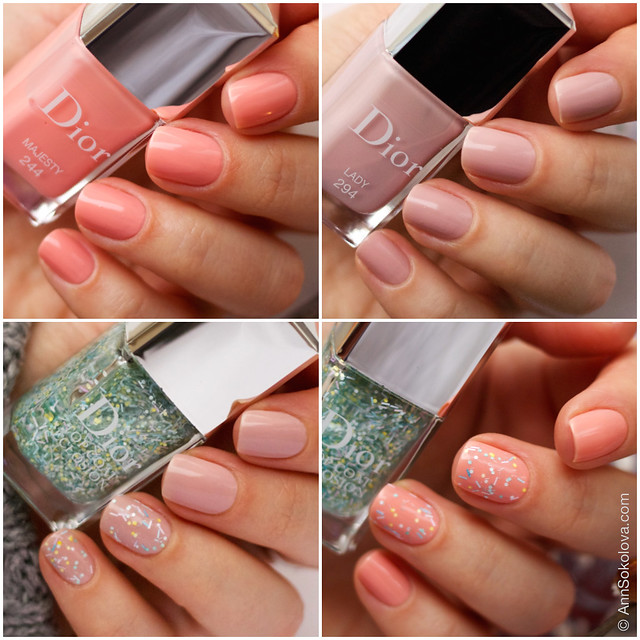 03 Dior Kingdom of Colors Collection for Spring 2015 #244 Majesty, #294 Lady, Dior Top Coat Eclosion