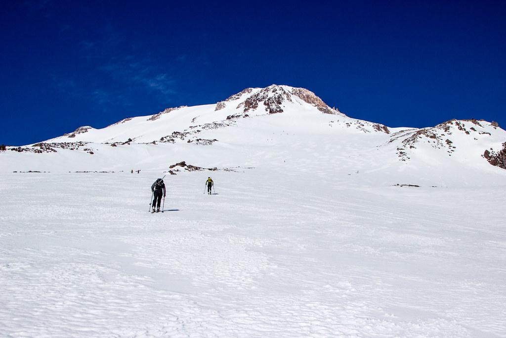 skinning Mt. Shasta