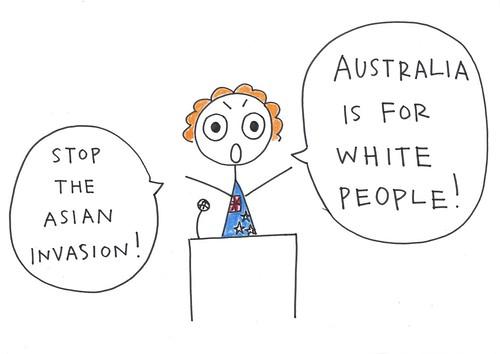 Australian Politician Famous For Her Anti-immigration Poli