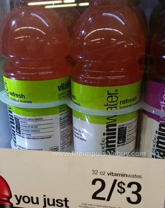 VitaminWater Refresh