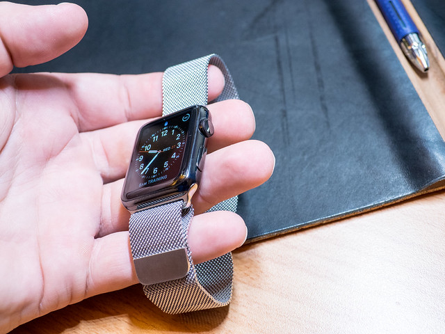 Technology: Apple Watch Space Black Stainless with ...