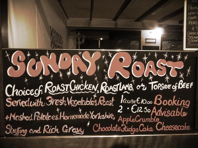 Sunday roast, restaurant in fuerteventura, sunday roast in corralejo