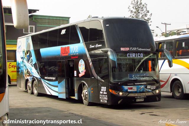 Moraga Tour | Santiago | Modasa Zeus 3 - Volvo / GYPT49 - 3313 (Sub Zero)