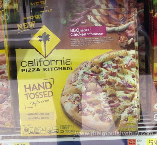 California Pizza Kitchen BBQ Recipe Chicken with Bacon Hand Tossed Style Crust Pizza