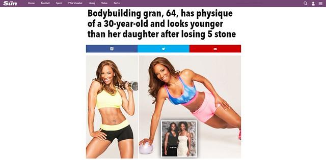 Bodybuilding gran