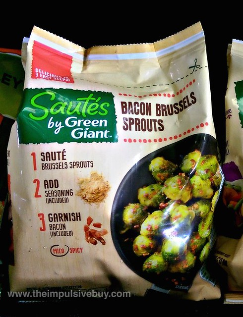 Bacon Brussels Sprouts Sautes by Green Giant