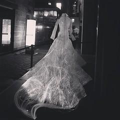 Walk that #light #dress #tonight #blackandwhite #ilovesydney #vividcanon #vividsydney #art #festival #sydney