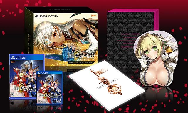 Fate/EXTELLA VELBER BOX
