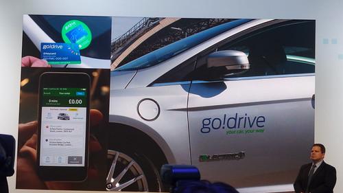 go!drive บริการแชร์รถใช้แบบ Pay as you drive ที่ลอนดอน