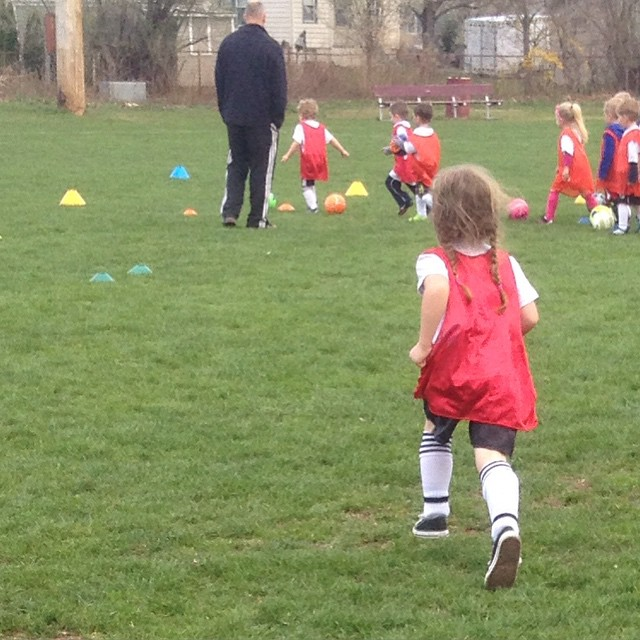 April 29, 2015 ~ Learning to Dribble (2/2)