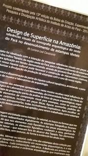 Vernissage da exposição Design de Superficie na Amazônia