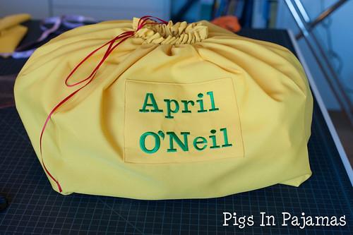 April O'Neil Cosplay Bag