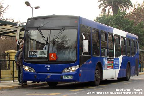 Transantiago - Subus Chile - Caio Mondego L / Volvo (ZN5375)