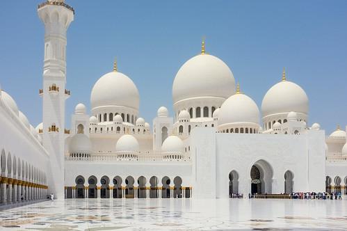 Sheikh Zayed Mosque - Exterior I.