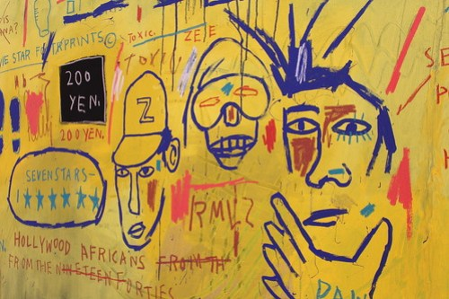 Hollywood Aflicans - Jean-Michel Basquiat