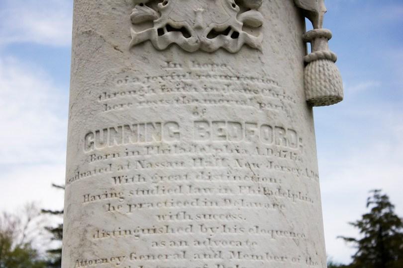 gunning-bedford-cemetery-memorial-detail