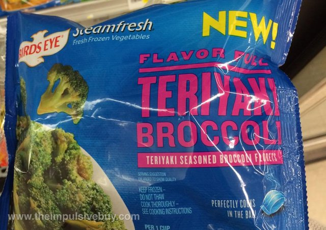 Birds Eye Steamfresh Flavor Full Teriyaki Broccoli