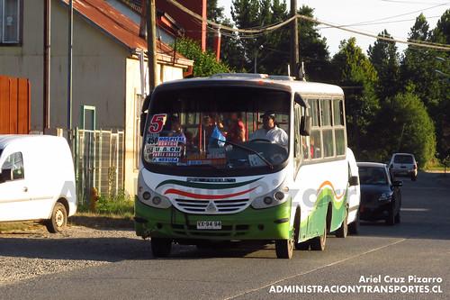 Valdivia Bus (Línea 5) - Transportes Regional Corvi - Neobus Thunder / Agrale (VX9494)