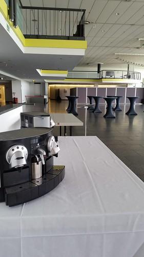 Messe und Event Catering Equipment Mieten #HummerCatering #Nespresso #Kaffeemaschine #Kaffeecatering #Kaffee #Catering #Mainz http://goo.gl/YqYr5q